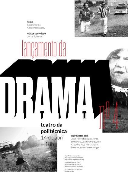 Lançamento da DRAMA n.º 4 – Revista de Cinema e Teatro